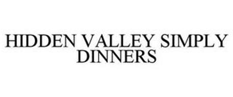 HIDDEN VALLEY SIMPLY DINNERS