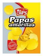 MY CHIPS PAPAS AMARILLAS NUTRITIVAS SINCOLORANTES PAPAS NATIVAS AMARILLAS