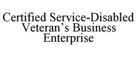 CERTIFIED SERVICE-DISABLED VETERAN'S BUSINESS ENTERPRISE