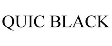 QUIC BLACK