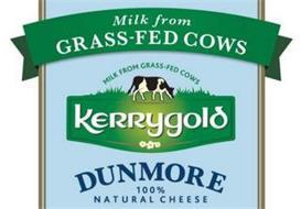 MILK FROM GRASS-FED COWS MILK FROM GRASS-FED COWS KERRYGOLD DUNMORE 100% NATURAL CHEESE