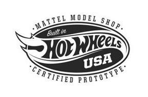 HOT WHEELS BUILT IN USA MATTEL MODEL SHOP CERTIFIED PROTOTYPE