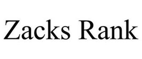 ZACKS RANK