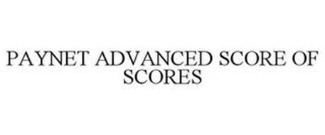 PAYNET ADVANCED SCORE OF SCORES