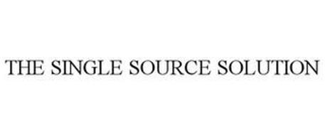 THE SINGLE SOURCE SOLUTION
