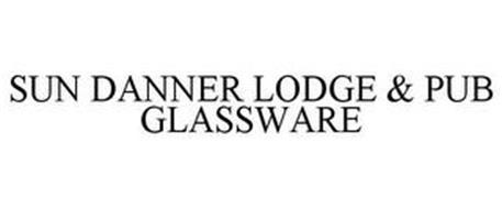 SUN DANNER LODGE & PUB GLASSWARE