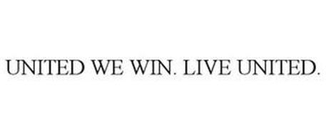 UNITED WE WIN. LIVE UNITED.