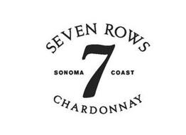 SEVEN ROWS SONOMA 7 COAST CHARDONNAY