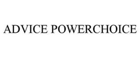 ADVICE POWERCHOICE