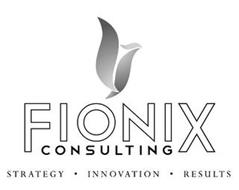 FIONIX CONSULTING STRATEGY · INNOVATION· RESULTS