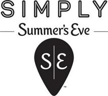 SIMPLY SUMMER'S EVE S E