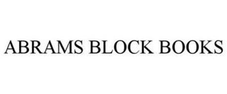 ABRAMS BLOCK BOOKS