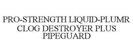 PRO-STRENGTH LIQUID-PLUMR CLOG DESTROYER PLUS PIPEGUARD