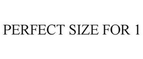 PERFECT SIZE FOR 1