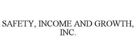 SAFETY, INCOME AND GROWTH, INC.