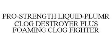 PRO-STRENGTH LIQUID-PLUMR CLOG DESTROYER PLUS FOAMING CLOG FIGHTER