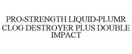 PRO-STRENGTH LIQUID-PLUMR CLOG DESTROYER PLUS DOUBLE IMPACT