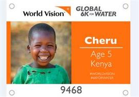WORLD VISION GLOBAL 6K FOR WATER CHERU AGE 5 KENYA #WORLDVISION #6KFORWATER