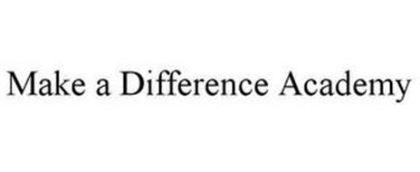 MAKE A DIFFERENCE ACADEMY
