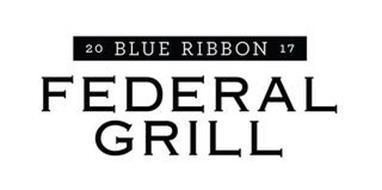 20 BLUE RIBBON 17 FEDERAL GRILL