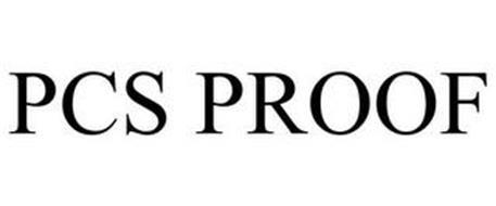 PCS PROOF