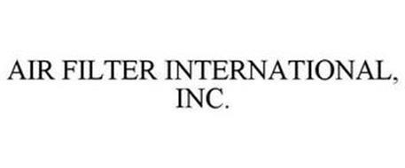 AIR FILTER INTERNATIONAL, INC.