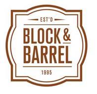 EST'D BLOCK & BARREL 1995