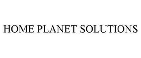 HOME PLANET SOLUTIONS