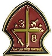 3 8 FORTUNA FAVET FORTIBUS