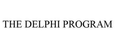 THE DELPHI PROGRAM