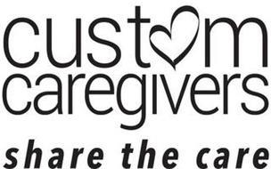 CUSTOM CAREGIVERS SHARE THE CARE