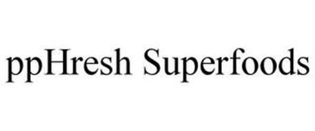 PPHRESH SUPERFOODS