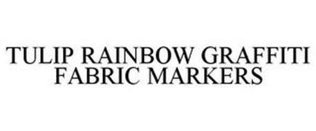 TULIP RAINBOW GRAFFITI FABRIC MARKERS
