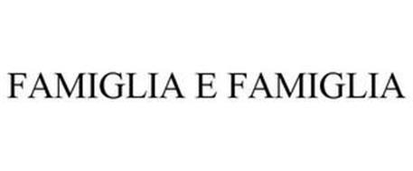 FAMIGLIA E FAMIGLIA