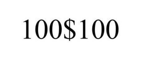 100$100