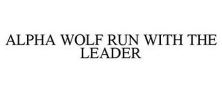 ALPHA WOLF RUN WITH THE LEADER