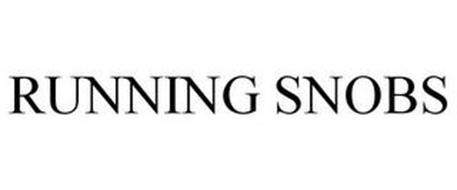 RUNNING SNOBS