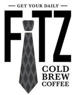 GET YOUR DAILY FITZ COLD BREW COFFEE