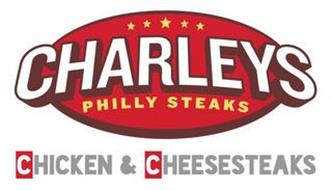 CHARLEYS PHILLY STEAKS CHICKEN & CHEESESTEAKS