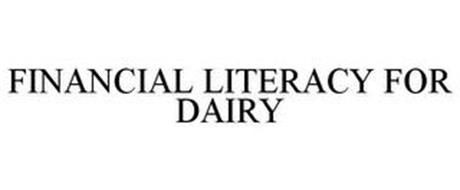 FINANCIAL LITERACY FOR DAIRY