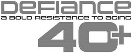 DEFIANCE A BOLD RESISTANCE TO AGING 40+