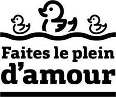 FAITES LE PLEIN D'AMOUR