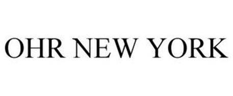 OHR NEW YORK