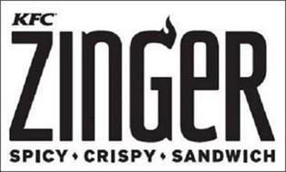 KFC ZINGER SPICY CRISPY SANDWICH