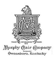 MCCO INCORPORATED OWENSBORO, KY. TRADE ESTABLISHED MARK 1872 MURPHY CHAIR COMPANY INCORPORATED OWENSBORO, KENTUCKY