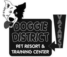 DOGGIE DISTRICT PET RESORT & TRAINING CENTER VACANCY