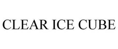 CLEAR ICE CUBE