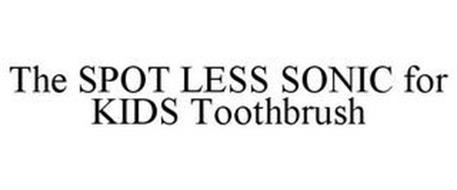 THE SPOT LESS SONIC FOR KIDS TOOTHBRUSH