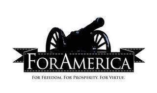FOR AMERICA. FOR FREEDOM. FOR PROSPERITY. FOR VIRTUE.