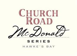 CHURCH ROAD MCDONALD SERIES HAWKE'S BAY